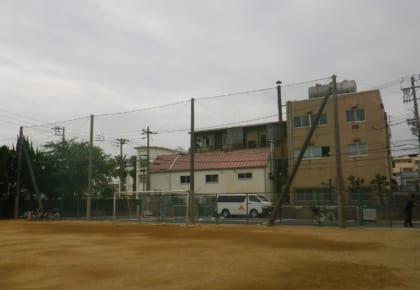 西神戸朝鮮初級学校 防球ネット及びフェンス工事