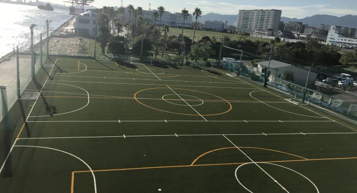スポーツ施設 コーニッシュフィールド-完成