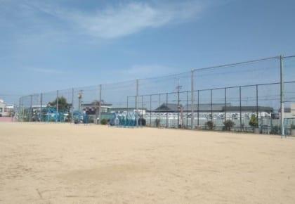 淡路市立学習小学校 防球ネット設置工事